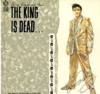 Elvis Presley - The King Is Dead (MFLP 015) Ex/M